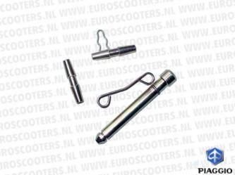 Piaggio en Vespa Remklauw veer en pennenset 40/45mm PIA-498442