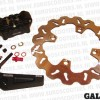 Remschijf kit 4-zuiger remklauw Honda Scoopy SH 125 /1501
