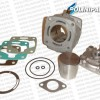 Minibike Cilinder big bore kit 40mm ~ 50cc Watergeko1