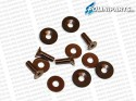 Brake bolt kit - 4 pieces1