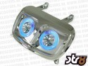 Koplamp - Angel Eyes - Yamaha BW's - Kleur: Chroom1